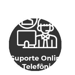 Suporte Online e Telefônico